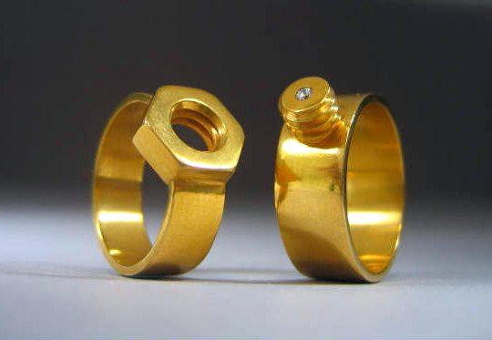 Aliança de noivado - anel de casamento