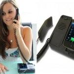 Novo suporte transforma celular em telefone fixo de mesa