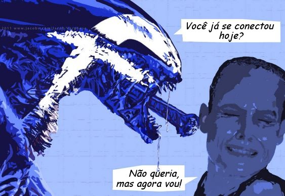 Facebook Alien