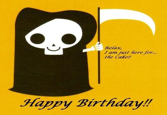 Data de aniversário - Morte