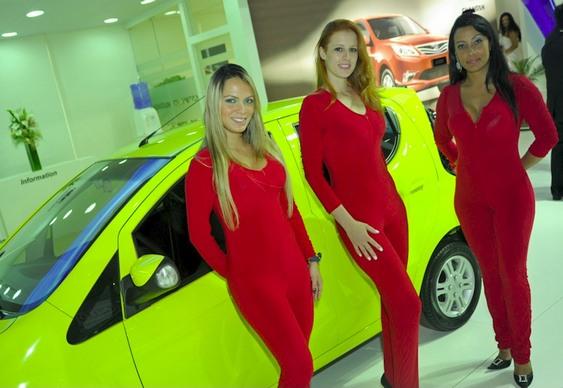 Musas Salão Automóvel SP 2012