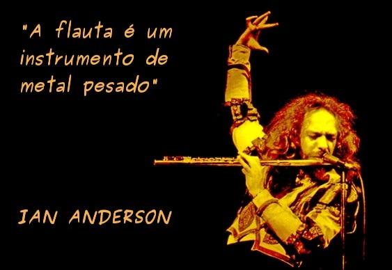 A flauta mágica do rock