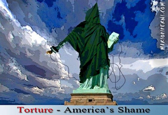 Tortura - vergonha dos EUA
