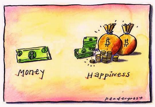 Dinheiro atrai felicidade?