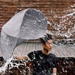 O guarda-chuva inspirado nas barracas de camping automáticas
