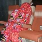 Batatas substituem humanos em teste de Internet em avião
