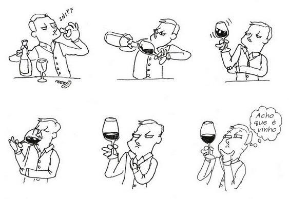 Humor - Degustação de Vinhos
