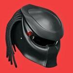 Capacete custom Predador para motociclistas 'invisíveis'