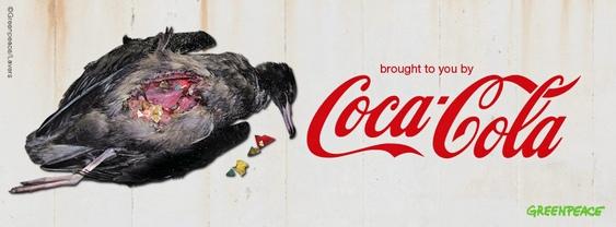 Lixo PET Coca-Cola