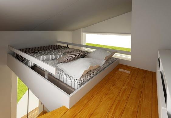 Projeto De Casa Compacta E Barata Em Dois Andares Para Solteiros Matria Incgnita