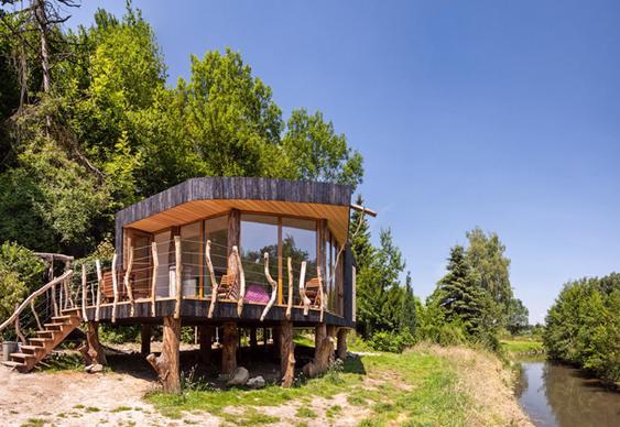 Casa rústica no campo