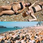 Brighton Beach – a praia de cascalho para inglês ver durante o Verão