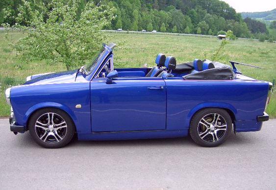 Carro da Alemanha Oriental