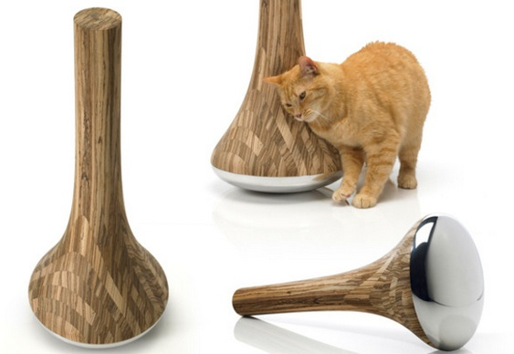 Poste joão-bobo para gato