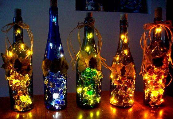Decoração reciclada de Natal