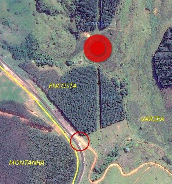 Disco voador em Minas