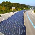 31 km de ciclovia num túnel coberto por painéis solares