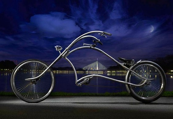 Bike estilo chopper