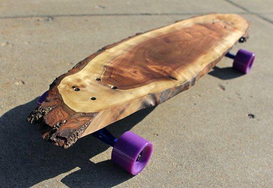 Skate com Lâmina de tronco