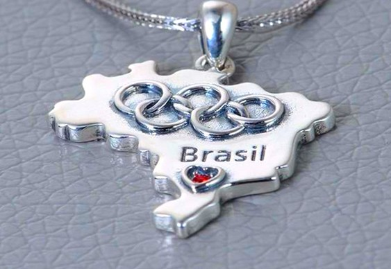 Joia Olimpíadas no Rio