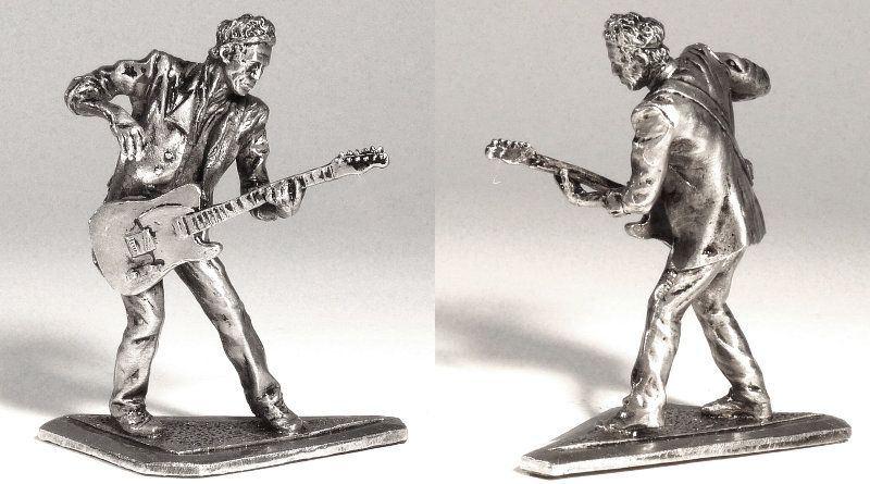 Miniatura do guitarrista dos Rolling Stones