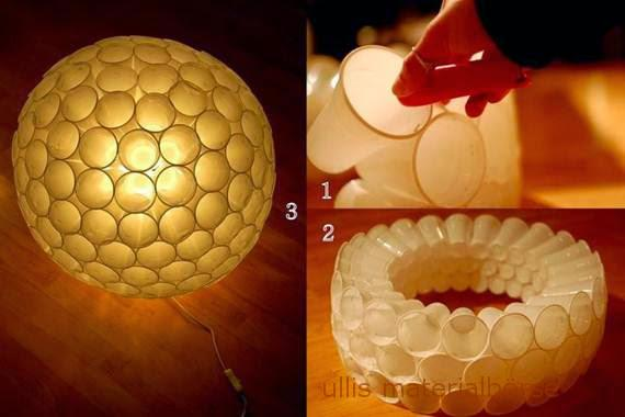 Pet Loffel Becherlampe Ullis Materialborse