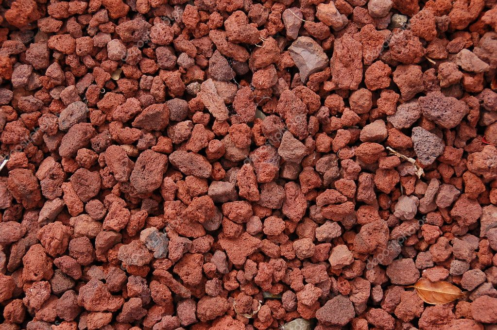 Small Lava Rock Landscaping