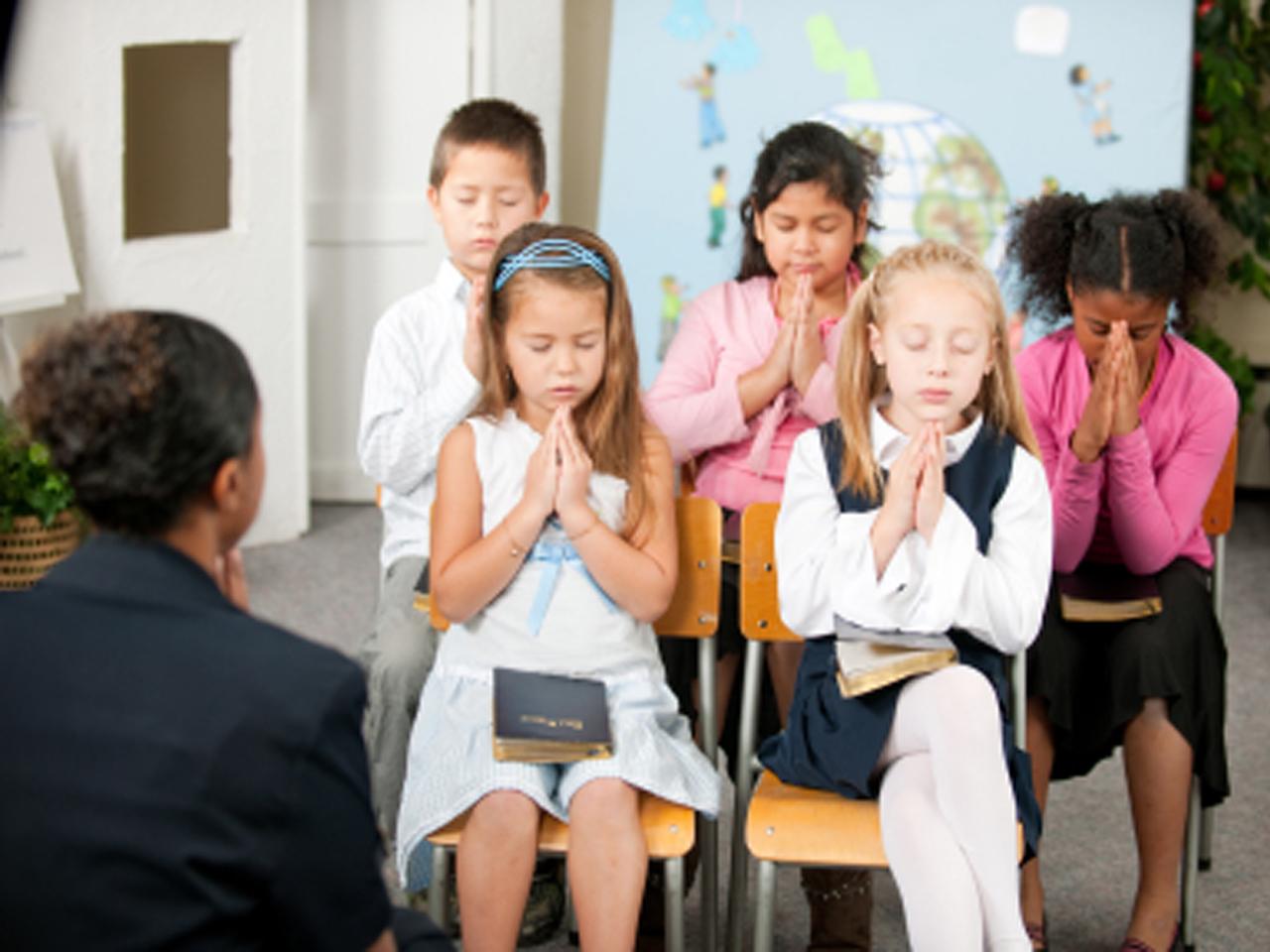 Por que as crianas precisam saber como orar  Material