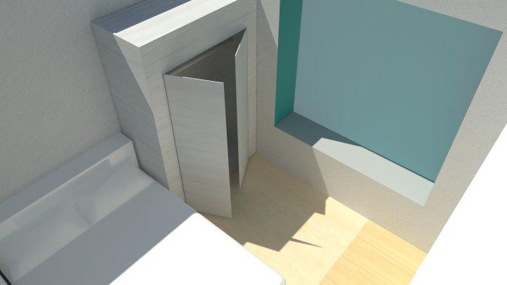 rendering for bedroom