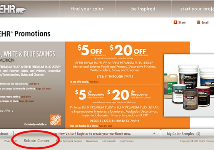 Behr Paint Coupons For Home Depot