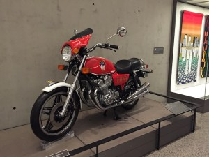 """The dream bike"" on display in the museum. Photo Haidy Geismar"