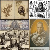 King Tawhiao II by John Mayall/Josiah Martin (subject to scholarly debate), c.1884; Māori themed photomontage by Josiah Martin, 1889. © Trustees of the British Museum [Oc,B52.9; Oc,A18.33], CC BY-NC-SA 4.0. Anonymous. (1894). 'The Tawhiao Tangi', The New Zealand Observer, XV(822), p.13. Courtesy of the National Library of New Zealand, out of copyright. My interdisciplinary research spans museum studies, anthropology and photography. It focuses on commercial colonial-era photographs of Māori (indigenous people of Aotearoa/New Zealand) in British museums. This includes these photographs' persistence in the British and NZ visual economies since the 1860s. I have followed their temporal cycles of reuse across different contexts, including albums, publications and exhibitions. This is illustrated by a portrait of King Tawhiao II (c.1822-1894), an important Māori leader during the latter half of the nineteenth century (top left). This photograph has been widely remediated, including as a photomontage (top right) and lithographic newspaper illustration (bottom). Natasha Barrett, De Montfort University