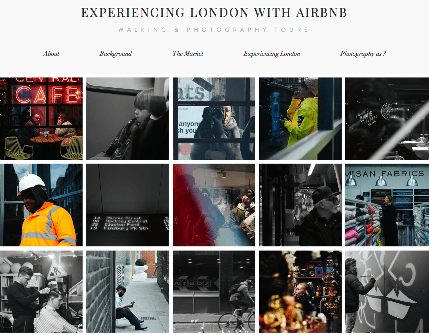 Experiencing London with Airbnb