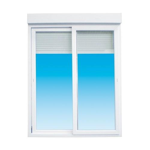 baie vitree coulissante aluminium avec volet electrique 200 x 240 cm