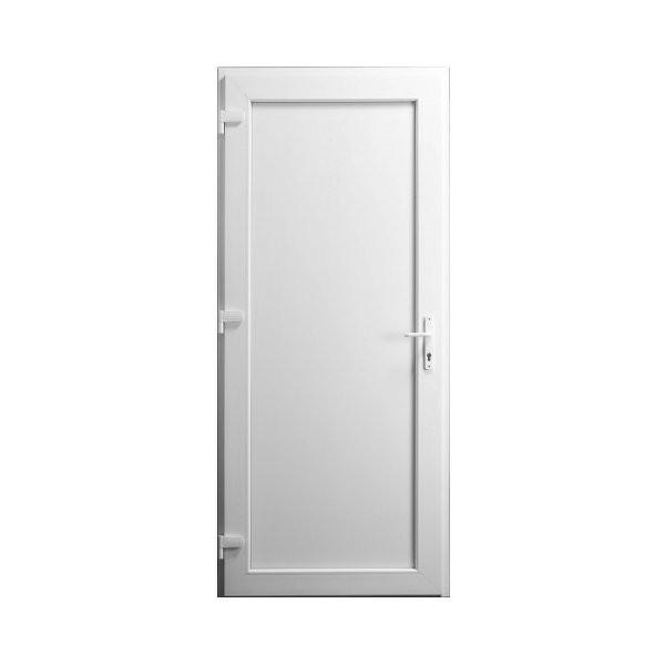 porte de service pvc pleine droit 205 x 90 cm