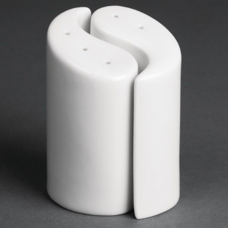 saliere et poivriere ying et yang olympia 95 mm boite de 12