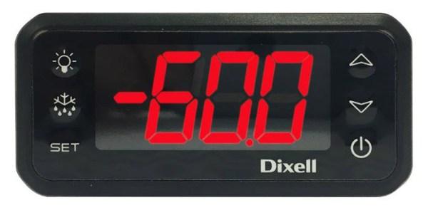 REGULATEUR ELECTRONIQUE DIXELL AVEC FONCTIONS D'ALARMES SONORE ET VISUELLE. CONTACT SEC