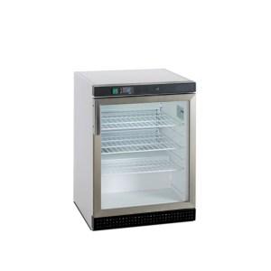 ITVL200 FRIGO VITRINE TABLETOP, +2+10°C VENTILEE, 130L, 600x600