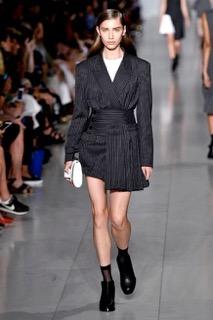 veste à rayures DKNY