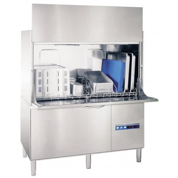 Lave Batterie Professionnel Capot Ouvert 2080 Inox