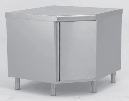 meuble d angle inox largeur 1000 mm