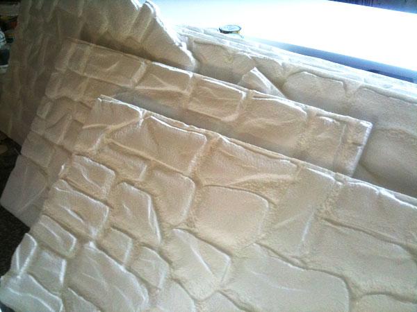 Pannelli decorativi polistirolo finta pietra