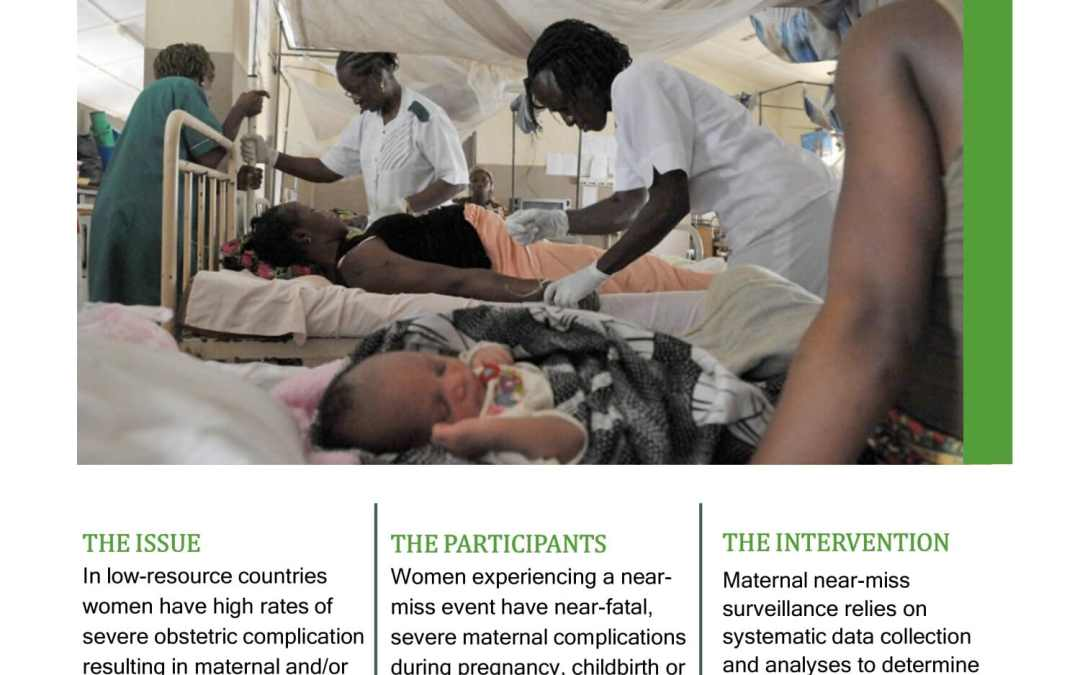 Pesquisa near miss na saúde materna