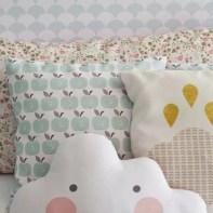 almofadas na decoração do quarto das crianças 30
