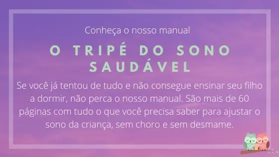 Manual - Tripé do Sono Saudável