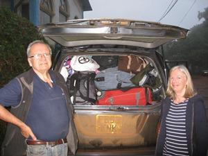 Karen and Jeremy car