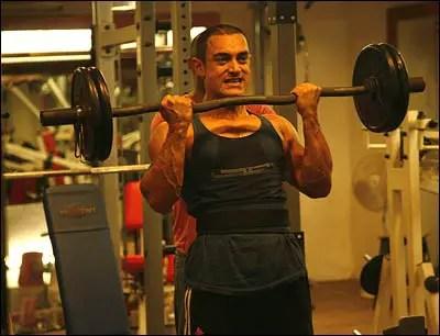 ghajini body aamir khan