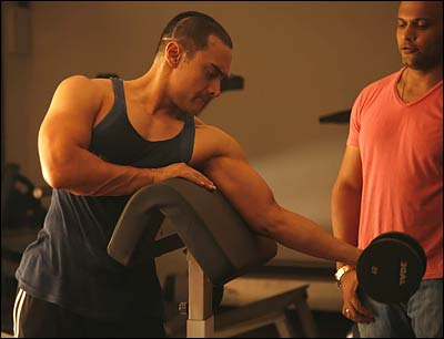 aamir khan gym exercises