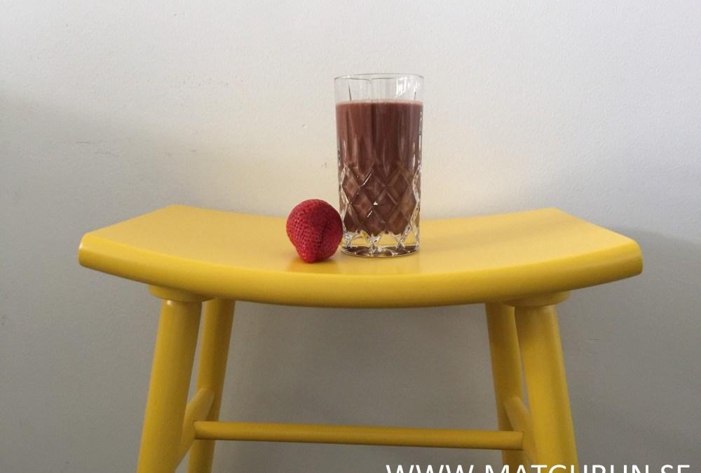Red choco boost – ett uppfriskande mellanmål