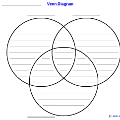 6 Circle Writable Venn Diagram Example 2000 Volkswagen Beetle Fuse Box Worksheets Dynamically Created Template Using Three Sets